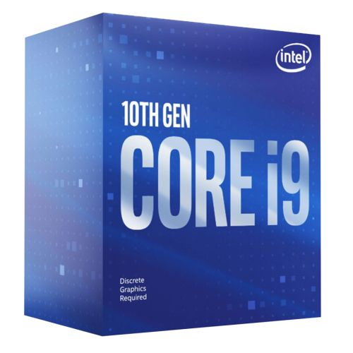 Intel Core I9-10900F CPU, 1200, 2.8 GHz 5.2 Turbo, 10-Core, 65W, 14nm, 20MB Cache, Comet Lake, NO GRAPHICS