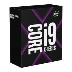 Intel Core I9-10900X, 2066, 3.7GHz 4.5 Turbo, 10-Core, 165W, 19.25MB Cache, Overclockable, No Graphics, Cascade Lake, NO HEATSINKFAN