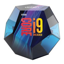 Intel Core I9-9900K CPU, 1151, 3.6 GHz 5.0 Turbo, 8-Core, 95W, 14nm, 16MB, Overclockable, NO HEATSINKFAN, Coffee Lake Refresh
