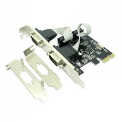 Approx APPPCIE2S 2-Port Serial Card, PCI Express, Low Profile Bracket