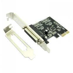 Approx APPPCIE1P Single Parallel Port Card, PCI Express, Low Profile Bracket