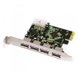 Approx APPCIE4P 4-Port USB 3.0 Card, PCI Express
