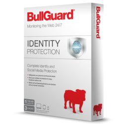 Bullguard Identity Protection 3 User 10 Pack, Retail, 1 Year