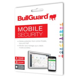 Bullguard Mobile Internet Security Single, 1 Year, 3 Devices, Retail
