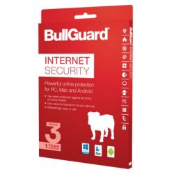 Bullguard Internet Security 2017 Retail, 3 User Single, Multi Device Licence, 1 Year