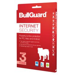Bullguard Internet Security 2017 Retail, 3 User 10 Licenses, Multi Device License, 1 Year
