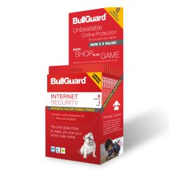 Bullguard Internet Security 2018 Retail, 6 User 10 Pack, Multi Device Licence, 1 Year