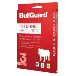 Bullguard Internet Security 2018 Retail, 3 User Single, Multi Device Licence, 1 Year