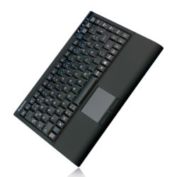 Keysonic ACK-540RF Wireless Mini Keyboard, USB, Built-in Touchpad