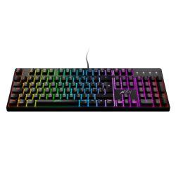 Xtrfy K4 RGB Mechanical Gaming Keyboard, Full N-key Rollover, 1000Hz, Adjustable RGB, Black