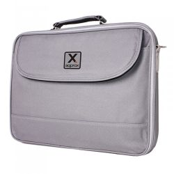 """Approx (APPNB15G) 15.6"""" Laptop Carry Case, Multiple Compartments, Padded, Grey, Retail"""