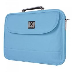 """Approx (APPNB15LB) 15.6"""" Laptop Carry Case, Multiple Compartments, Padded, Blue, Retail"""