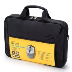 Dicota D30805-V1 Carry Case & Mouse Bundle - 15.6