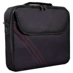 Port Design 15.6 Laptop Carry Case, Pocket & Strap, Black