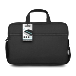 "Urban Factory 15.6"" Laptop Carry Case, Pocket & Strap, Black"