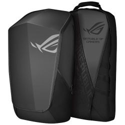 """Asus ROG Ranger 2-in-1 Backpack , Up to 17"""" Laptops, Detachable Front & Rear Compartments"""