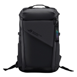 "Asus ROG 17"" Ranger BP2701 Lightweight Gaming Backpack, Water Repellent, Luggage Strap, 22 Litre"