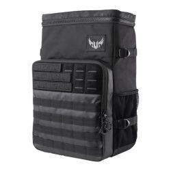 "Asus TUF Gaming BP2700 17"" Laptop Backpack, Water Resistant, Camo Design, 18 Litre Capacity, Padded Straps"