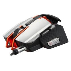Cougar 700M Gaming Mouse, 8200 DPI, Adjustable & Programmable, LEDs, Gaming Features, Silver *DAMAGED BOX*