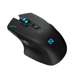Sandberg Sniper Wireless Gaming Mouse, 2400 dpi, 8 Buttons, Multi-LED, 5 Year Warranty
