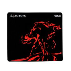 Asus CERBERUS PLUS Gaming Mouse Pad, Black & Red, 450 x 400 x 3mm