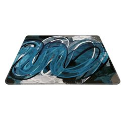 Xtrfy GP4 Large Surface Gaming Mouse Pad, Street Blue, Cloth Surface, Non-slip Base, Washable, 460 x 400 x 4 mm