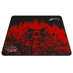 Xtrfy XTP1 F0rest Large Gaming Mouse Pad, Ninjas in Pyjamas Edition, Cloth Surface, Washable, 460 x 400 x 4 mm