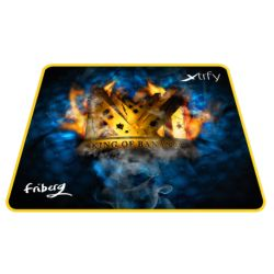 Xtrfy XTP1 Friberg Large Gaming Mouse Pad, Ninjas in Pyjamas Edition, Cloth Surface, Washable, 460 x 400 x 4 mm