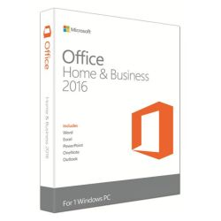 Microsoft Office 2016 Home & Business, PKC OEM, Licence, 32 & 64 bit, Medialess