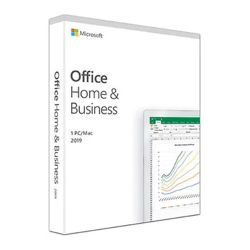 Microsoft Office 2019 Home & Business, PKC OEM, 1 Licence, Medialess