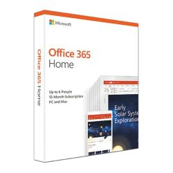 Microsoft Office 365 Home 2019, 6 Users PCsMacs, Tablets & Phones, 1 Year Subscription