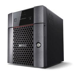 Buffalo 12TB TeraStation 3410DN Business Class NAS Drive, (4 x 3TB), RAID 0, 1, 5, 6, 10, JBOD, NovaBACKUP, Hot Swap