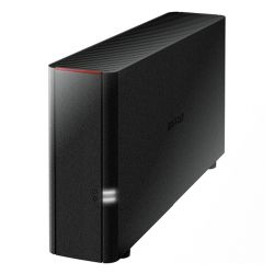 Buffalo 2TB LinkStation 210 NAS Drive, (1 x 2TB), GB LAN, NovaBACKUP, Built-in BitTorrent