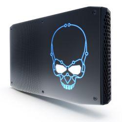 Intel NUC Hades Canyon i7 VR Gaming Barebone, i7-8809G, 2 x M.2, RX Vega M GH Graphics, Wi-Fi, USB Type C Gen2, VESA, RGB Skull - No RAM/SSD/OS