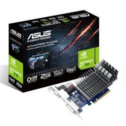 Asus GT710, 2GB DDR3, PCIe2, VGA, DVI, HDMI, 954MHz Clock, GPU Tweak II, Silent, Low Profile (No Bracket)