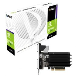 Palit GT710, 1GB DDR3, PCIe2, VGA, DVI, HDMI, 954MHz Clock, Silent, Low Profile No Bracket