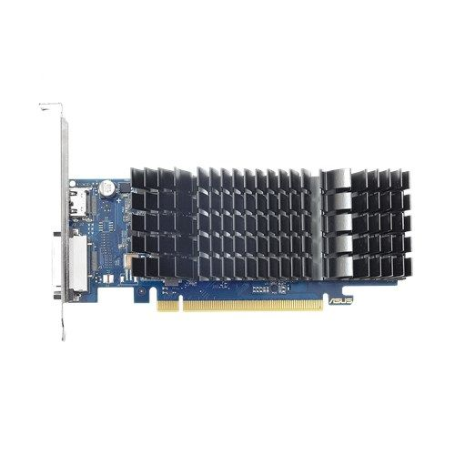 Asus GeForce GT1030, 2GB DDR5, PCIe3, DVI, HDMI, 1506MHz Clock, Silent, Low Profile Bracket Included