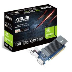 Asus GT710, 1GB DDR5, PCIe2, VGA, DVI, HDMI, Silent, Low Profile Bracket Included