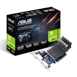 Asus GT710, 1GB DDR3, PCIe2, VGA, DVI, HDMI, 954MHz Clock, Silent, Low Profile No Bracket