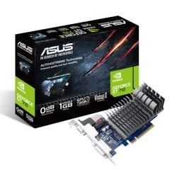 Asus GT710, 1GB DDR3, PCIe2, VGA, DVI, HDMI, Silent, Low Profile (No Bracket)