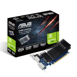 Asus GT730, 2GB DDR5, PCIe2, VGA, DVI, HDMI, Low Profile With Bracket, Silent