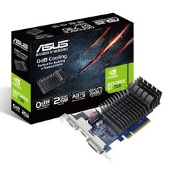 Asus GT730, 2GB DDR3, PCIe2, VGA, DVI, HDMI, Low Profile With Bracket, Silent