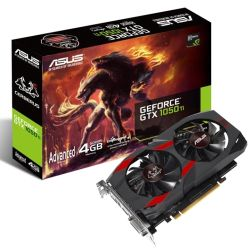 Asus CERBERUS GTX1050 Ti Advanced, 4GB DDR5, PCIe3, DVI, HDMI, DP, 1442MHz Clock OC