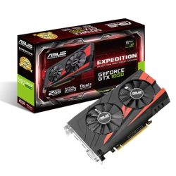 Asus Expedition GTX1050 eSports, 2GB DDR5, PCIe3, DVI, HDMI, DP, 1455 MHz