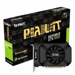 Palit GTX1050 StormX, 2GB DDR5, PCIe3, DVI, HDMI, DP, 1455MHz Clock, Compact