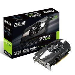 Asus Phoenix GTX1060, 3GB DDR5, DVI, 2 HDMI, 2 DP, 1708MHz Clock, Compact Design