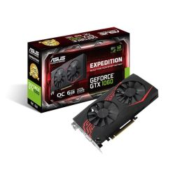 Asus Expedition GTX1060, 6GB DDR5, PCIe 3.0, DVI, 2 HDMI, 2 DP, VR Ready