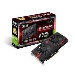 Asus Expedition GTX1060, 6GB DDR5, PCIe3, DVI, 2 HDMI, 2 DP, 1708MHz, VR Ready