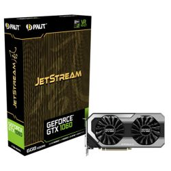 Palit GTX1060 JetStream, 6GB DDR5, 1708MHz, DVI, HDMI, 3 DP, VR Ready, ThunderMaster