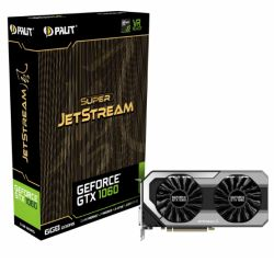 Palit GTX1060 Super JetStream, 6GB DDR5, HDMI, 3 DP, 1847MHz, RGB Lighting, 0dB, VR Ready